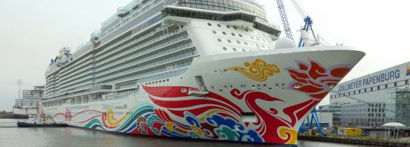 NCL prende in consegna Norwegian Joy