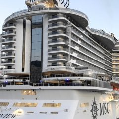 MSC Seaview, la nave che segue il sole