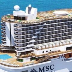 MSC Seaside…affaccio sul mare.